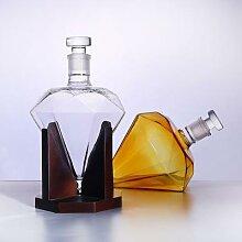 Carafe à décanter de 1000ML, verres de luxe en