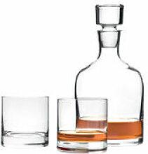 Carafe à whisky / Set carafe + 2 verres -