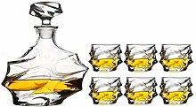 Carafe à whisky Whisky Carafe Set 6 Whisky Verres