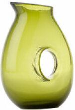 Carafe Jug with hole / 1 Litre - Pols Potten vert