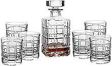 Carafe Whisky Set de carafe de whisky de 7 pièces