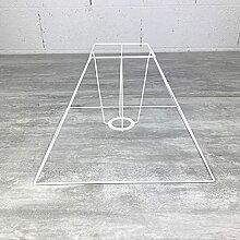 Carcasse Abat-Jour Pyramide 30x10,5x22,5 cm,