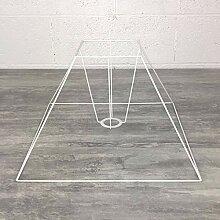 Carcasse Abat-Jour Pyramide 40x15x30 cm, Armature