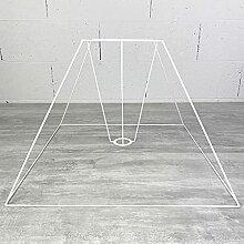Carcasse Abat-Jour Pyramide 50x18,5x39 cm,