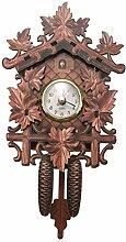 CareMont Horloge Murale Oiseau DéCoratif à la