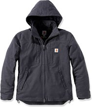 Carhartt Cryder, veste textile - Gris Foncé - L