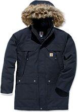 Carhartt Quick Duck Sawtooth, veste textile - Noir