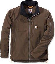 Carhartt Rough Cut, veste textile - Marron Foncé