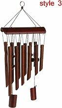 Carillons à vent Bambou Vent Carillon Naturel