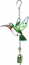 carillons d'oiseaux Cloches en métal Vent