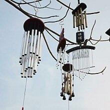 Carillons éoliens chauds d'extérieur, grand