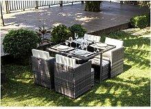 CARIOCA2 Ensemble repas de jardin encastrable -