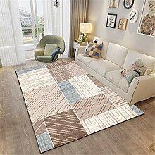 Carpette Multicolore Tapis pour Chambre Abstrait
