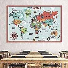Carte du monde de puzzle classique, puzzles
