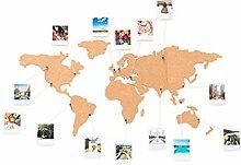 Carte du monde en liège - Luckies of London