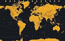 Carte du Monde  Gold World Map - 61x91,5 cm -