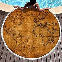Carte du Monde Histoire Ancienne Impression