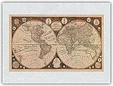 Carte du Monde - Nouvelles découvertes par Le