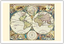 Carte du Monde Novissima Totius Terrarum Orbis