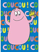 Carte simple coucou Barbapapa - Petit Jour