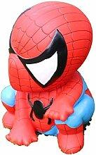 Cartoon vinyl spiderman tirelire peut économiser