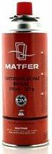 Cartouche de gaz pour chalumeau Matfer 0,000000