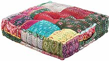 Casa Moro Coussin d'assise patchwork Kanthara