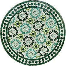 Casa Moro MT2140 Table de bistrot ronde en