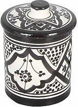 Casa Moro Sucrier en céramique peint à la main |