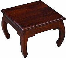 Casa Moro Table Basse de L´Inde Marron 53 x 53 x