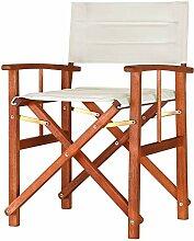 CASARIA 1x Chaise de régie - Chaise de metteur en