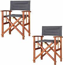 CASARIA 2X Chaises de régie - Chaise de metteur
