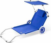 Casaria - Chaise Longue Crête - Bain De Soleil