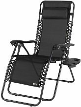 Casaria - Chaise longue luxueuse avec haut dossier
