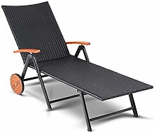 CASARIA Chaise Longue Pliable polyrotin Structure