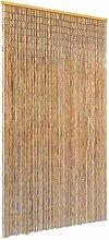 Casdl Moustiquaire de porte en bambou 100 x 220 cm