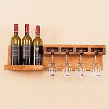 Casier à Bouteilles Bouteille de vin en bois