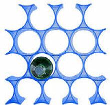 Casier à bouteilles Infinity - Kartell bleu en