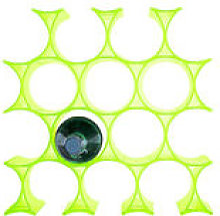 Casier à bouteilles Infinity - Kartell vert en