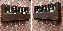 Casier à Vin Porte-Bouteilles Traditionnel
