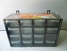 Casier de rangement 16 tiroirs Boite vis clous