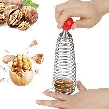 Casse-noix en acier inoxydable, 1 pièce,