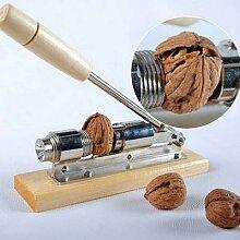 Casse-noix manuel en acier inoxydable éplucheur