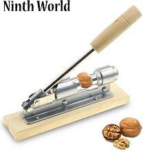 Casse-noix manuel en acier inoxydable, éplucheur