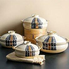Casserole en céramique grès japonais ustensiles