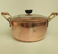 Casserole en cuivre pur pour la fabrication de
