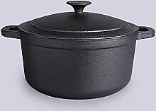 Casserole En Fonte À L'ancienne Pot De Soupe