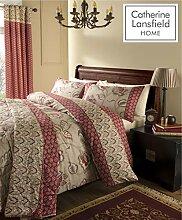 Catherine Lansfield - Parure de lit double en
