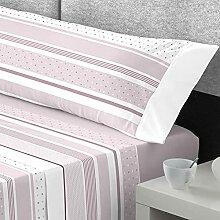 Catotex Parure de lit en Flanelle 3 pièces (Drap