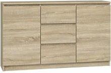 Cazar - commode moderne 2 portes + 3 tiroirs